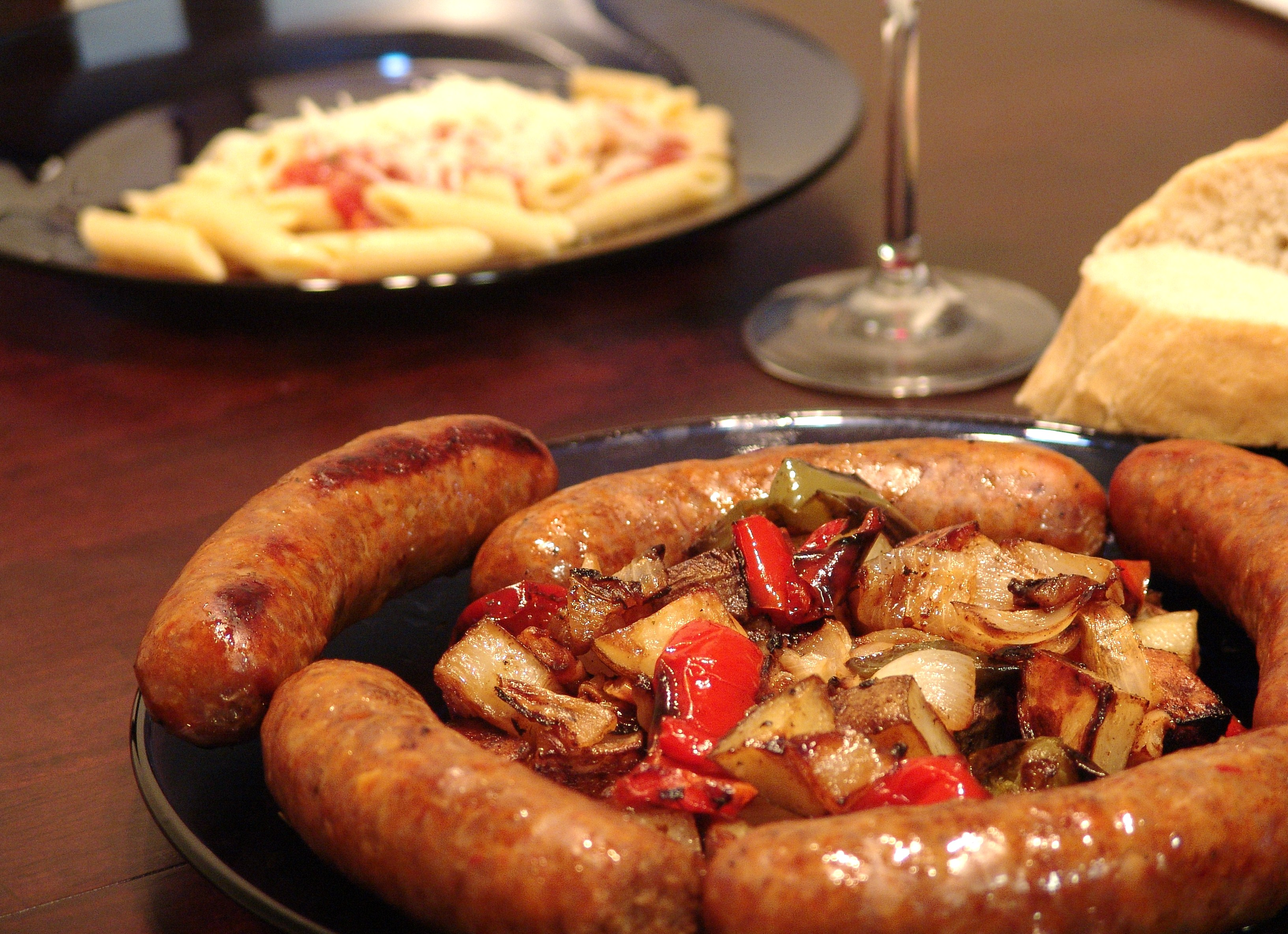 Roasted Sausage, Peppers, Potatoes and Onions – Fantasy Football ...