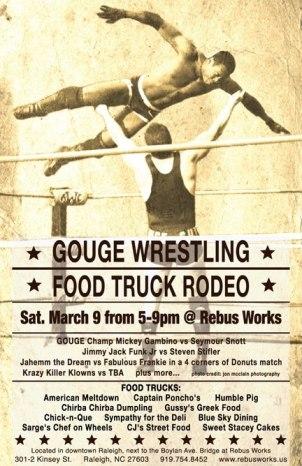 Gouge Wrestling March 13
