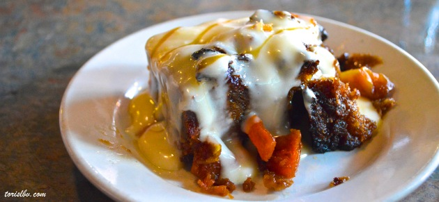 famous bread pudding