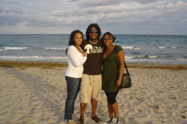 Serena, my Sister and I the last day if my Independence weekend. Jupiter, Florida (February 2010)