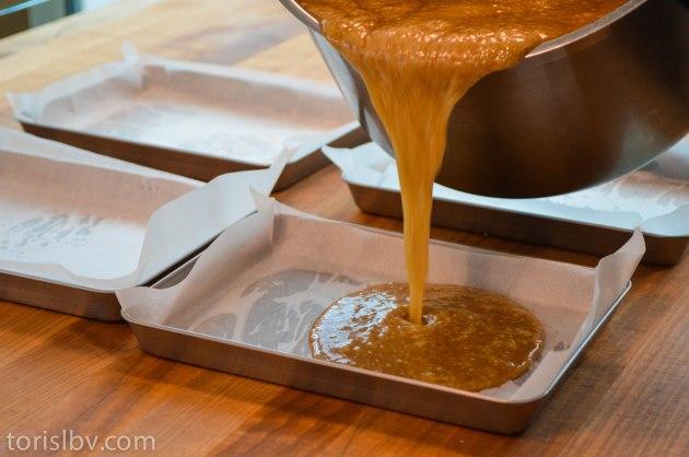 Lard Caramel Pour