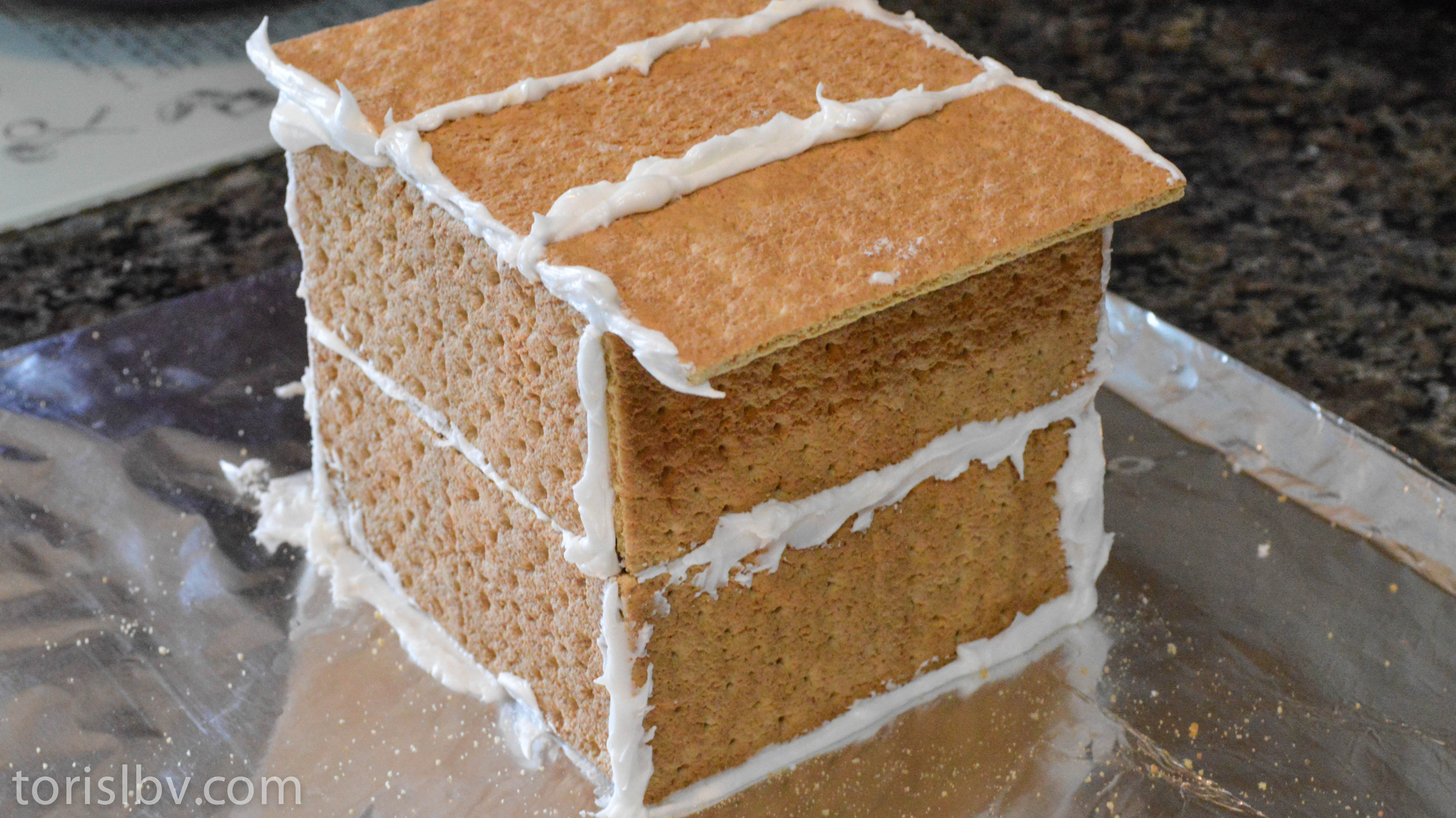 how to build a graham cracker house la buena vida