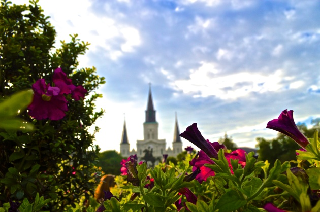 The Saint Louis Cathedral in Jackson Square. (May/New Orleans, LA) Photo by Serena Wilson