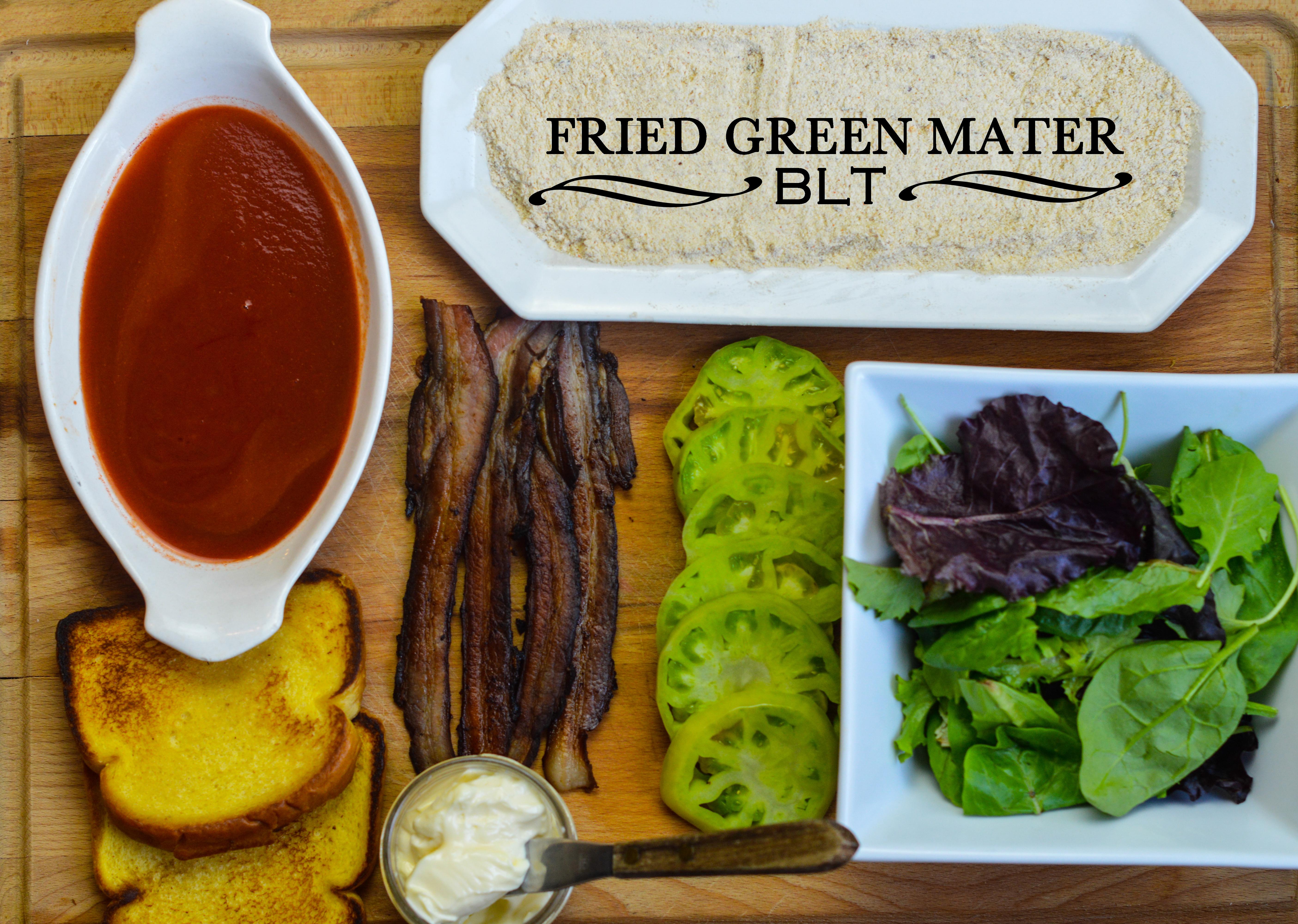 Fried Green Mater BLT