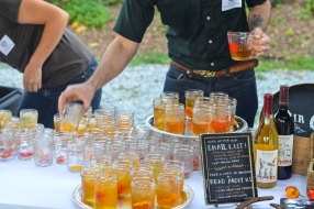 Tipper Tobago Cocktails: Apple Tipper Wine with Tobago Pepper and Orange - Fair Game Beverage Company